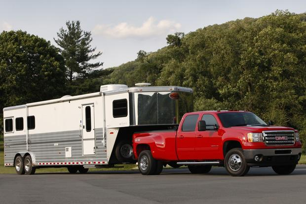 heavy-duty RV trucks Towing